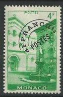 "Monaco Préo YT 3 "" Palais 4F. Emeraude "" 1943-51 Neuf ** - Monaco"