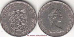 JERSEY 5 Pence 1968 KM#32 - Used - Jersey