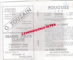 58 - POUGUES LES EAUX - DEPLIANT TOURISTIQUE 1946- - Tourism Brochures