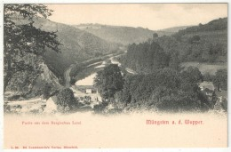 Müngsten A. D. Wupper - Partie Aus Dem Bergischen Land - Solingen