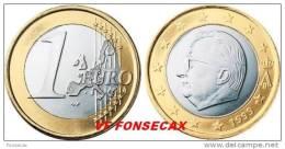 VF MOEDA DE  1 EURO  DA BELGICA 2000 - Belgio
