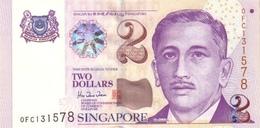 SINGAPORE 2 DOLLARS ND (1999) P-38  [ SG132a ] - Singapore