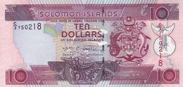 SOLOMON ISLANDS 10 DOLLARS ND (2009) P-27 UNC [SB217a] - Solomonen