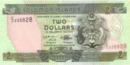 SOLOMON ISLANDS 2 DOLLARS ND (1997) P-18 AU/UNC [SB208a] - Solomonen