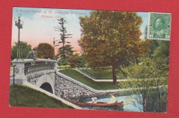 Ottawa  --  A Pretty Corner On The Dominion Driveway - Ottawa
