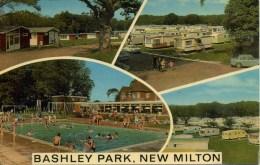HANTS - NEW MILTON - BASHLEY PARK HOLIDAY CENTRE Ha424 - England
