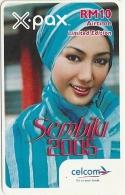 Malaysia - Celcom - Sembilu 2005 - GSM Refill 10RM, Exp. 09.03.2007, Used - Malaysia