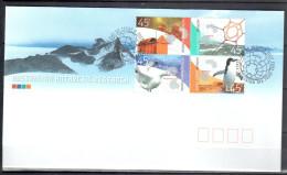 AAT 2002 - Antarctic Research -  Mi.149-152 - FDC - FDC
