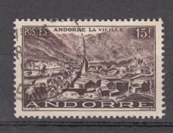 Andorra 1944 Mi Nr 131 Landschap  15f - Andorre Français