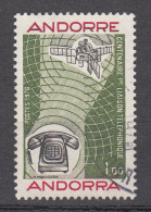 Andorra 1976 Mi Nr 273   100 Jaar Tefefoon