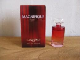 MINIATURE DE PARFUM MAGNIFIQUE  DE LANCOME EAU DE PARFUM 5ML GRANDE BOITE - Miniatures Modernes (à Partir De 1961)