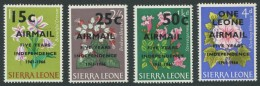 SIERRA LEONE / 5 Jahre Unabhängigkeit / MiNr. 360, 361, 362 Und 363 / Postfrisch / MNH / ** - Sierra Leone (1961-...)