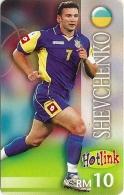 Malaysia - Hotlink Maxis - Andriy Shevchenko Football - GSM Refill 10RM, Exp. 04.2010, Used - Malaysia