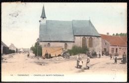 TURNHOUT - Chapelle Saint-Théobald - Carte Animée Et Circulée Vers Anvers  En 1910 - Prachtkaart - Turnhout