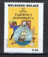 België 2007 Xxx Hergé Strip 3646 Kuifje Het Geheim Van De Eenhoorn - Belgique