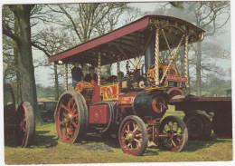'ISLAND PRINCE'  Burrell Showman's Engine  4 NHP, Built 1921  - (England) - Tractors