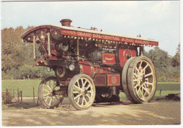 ´LORD LASCALLES´   - Burrell Scenic Showmans Engine  - No. 3886 -  Built 1921  - (England) - Tractors
