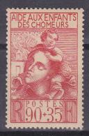 N° 428 Au Profit De L´Oeuvre Des Enfants Des Chômeurs: Timbre Neuf Sans Charnière Impéccable - Unused Stamps