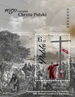"Poland 2016 ""1050. Anniversary Of Christianisation Of Poland"" MS Mishel MNH** - Blocks & Kleinbögen"