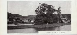 Vers 1900 - Iconographie Documentaire - Hendaye (Pyrénées-Atlantique) - L'ile Des Faisans - FRANCO DE PORT - Vieux Papiers