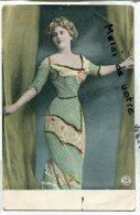 - 5826 - Fantaisie - Belle Femme - Plein De Paillettes Sur La Robe, écrite En 1905, édition ALTEROCCA, Scans. - Femmes