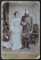 CDV [cabinet Fotmat] Russie Grodno Photo Kozlowski Et Poczobutt Officer (958) - Ancianas (antes De 1900)