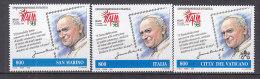 PGL AA0170 - SAN MARINO SAINT MARIN SASSONE N°1647 + CONGIUNTE ** - Nuovi