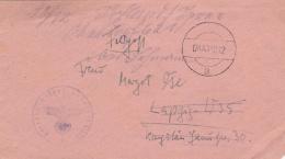 Feldpost WW2: Kriegslazarett 1/III In Kolomea (also Called Kolomyia In Western Ukraine) P/m 8.12.1943 - Cover Only  (G85 - Militaria