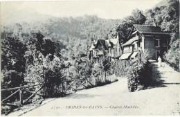 CPA DE BRIDES-LES-BAINS  (SAVOIE)  CHALETS MATHILDE - Brides Les Bains