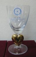 AC - 21th ANNIVERSARY OF ANKARA KAVAKLIDERE ROTARY CLUB 2007 GLASS # 2 FROM TURKEY - Advertising