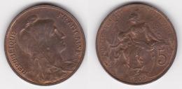 5 CENTIMES DANIEL DUPUIS 1909 Superbe (voir Scan) - C. 5 Centesimi