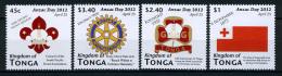 2012 - TONGA  - Mi. Nr. 1771/17774 - NH - ( **) - (K-EA-361369) - Tonga (1970-...)