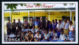 2012 - TONGA  - Mi. Nr. Block 54 - NH - ( **) - (K-EA-361369) - Tonga (1970-...)