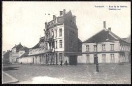 TURNHOUT - RUE DE LA STATION - STATIESTRAAT - Niet Courant - Turnhout