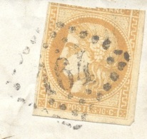 BOUCHES DU RHONE 13 ARLES SUR RHONE LAC TAD 15  22/05/1871 GC 164 Sur 10 C Bordeaux (touché) Tarif Local St Martin TTB - Marcophilie (Lettres)