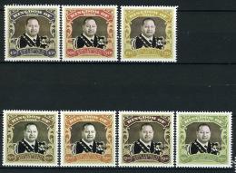 2013 - TONGA  - Mi. Nr. 1934/1940 - NH - ( **) - (K-EA-361369) - Tonga (1970-...)