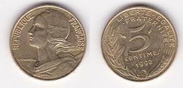 5 CENTIMES LAGRIFOUL 1992 3 Plis FDC (voir Scan) - France