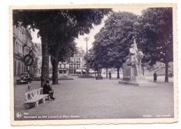 B 4900 SPA, Monument Au 4me Lanciers Et Place Royale, 1942 - Spa