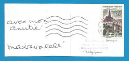 (A204) Signature / Dédicace / Autographe Original De Max Favalleli - Journaliste  - Animateur TV - Autographes