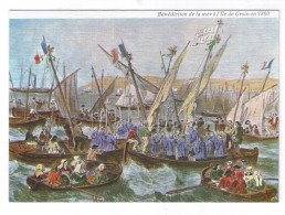 GROIX  BENEDICTION DE LA MER EN 1860 - Groix