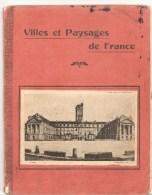 Cahier Villes Et Paysages De France Dijon Hôtel De Ville Cahier écrit De 1924 à L'état D'usage - Protège-cahiers