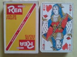 REA Jus De Fruits. Sain, Agréable, Naturel.. Usagé Dans Sa Boite Carton . - 32 Cards