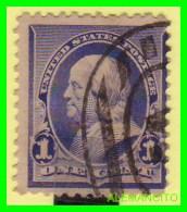 ESTADOS UNIDOS - UNITED STATES- ( AMERICA ) FRANKLIN - SELLO  -  ONE CENT ... AÑO 1890 - América Central