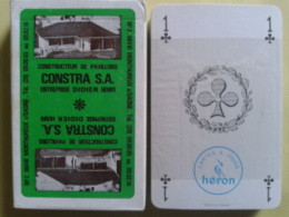 CONSTRA S.A Constructeur De Pavillons. Entreprise Didier Henri. Neuf Sous Blister Dans Sa Boite Carton . - 32 Cartes