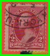 ESTADOS UNIDOS - UNITED STATES- ( AMERICA ) WASHINGTON SELLO  -  TWO CENTS ... AÑO 1890 - América Central