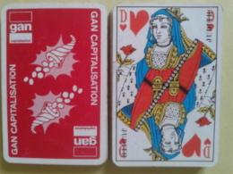 GAN CAPITALISATION. Jeu De 32 Cartes + 1 Joker. Usagé Sans étui - 32 Cartes
