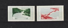 1965 - Centrale Hydro Des Portes Des Fer  Mi 2403/2404 Et Yv 2138/2139 MNH - 1948-.... Républiques