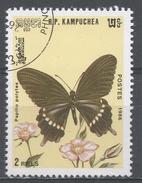 Kampuchea 1986, Scott #696 Butterfly: Papilio Polytes (U) - Kampuchea