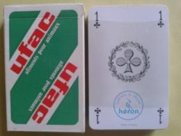 UFAC Aliments Pour Animaux. Jeu De 32 Cartes + 1 Joker. Usagé Bonétat Dans Sa Boite Carton - 32 Cartes