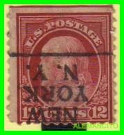 ESTADOS UNIDOS - UNITED STATES- ( AMERICA ) FRANKLIN  - SELLO  -  12 CENT ... AÑO 1912 - América Central